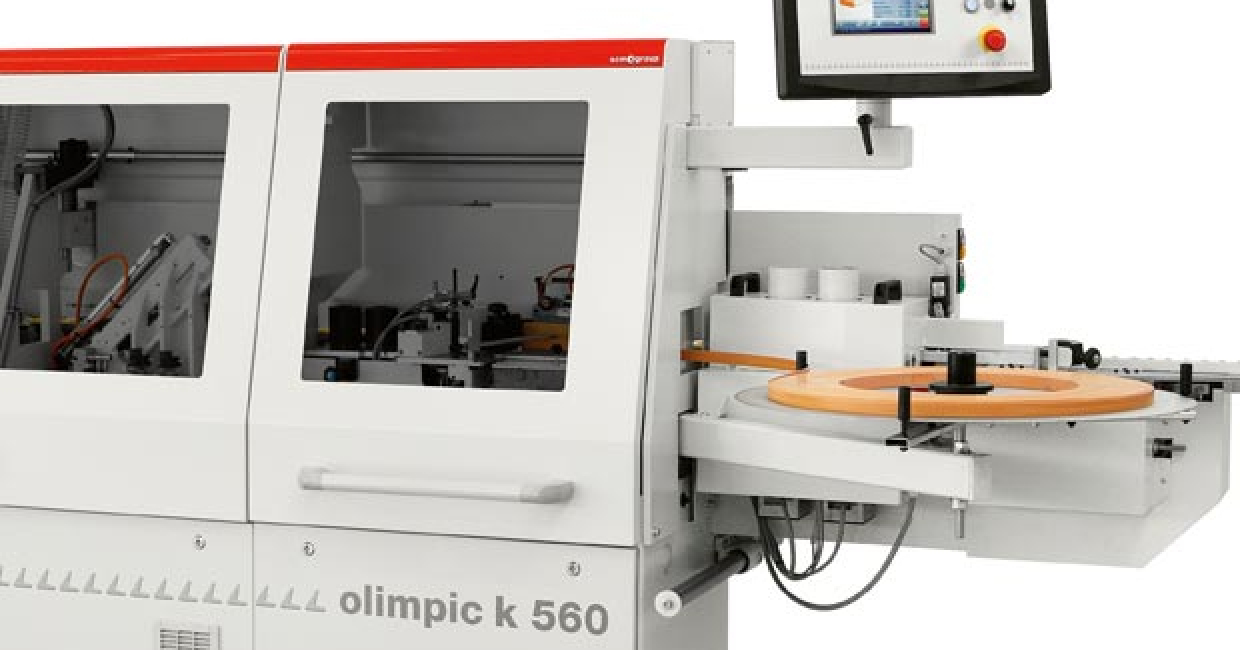 SCM's K550 single-sided edgebander