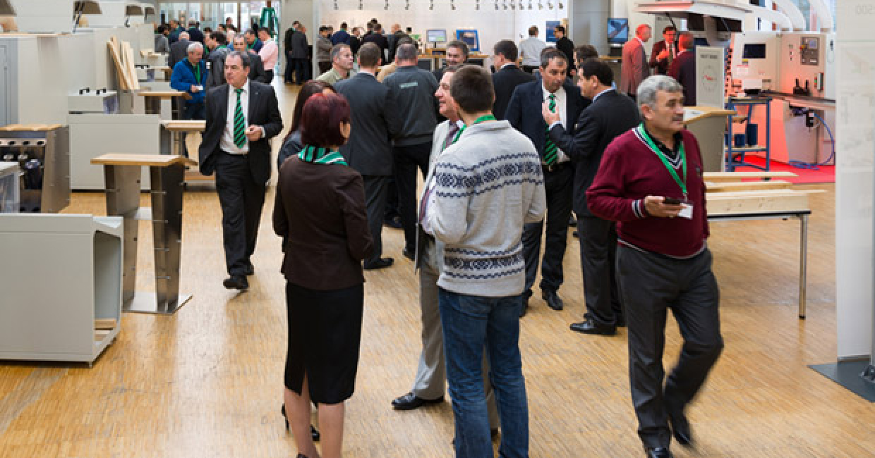 Weinig InTech – a magnet for visitors: 1550 professional visitors marked a new record