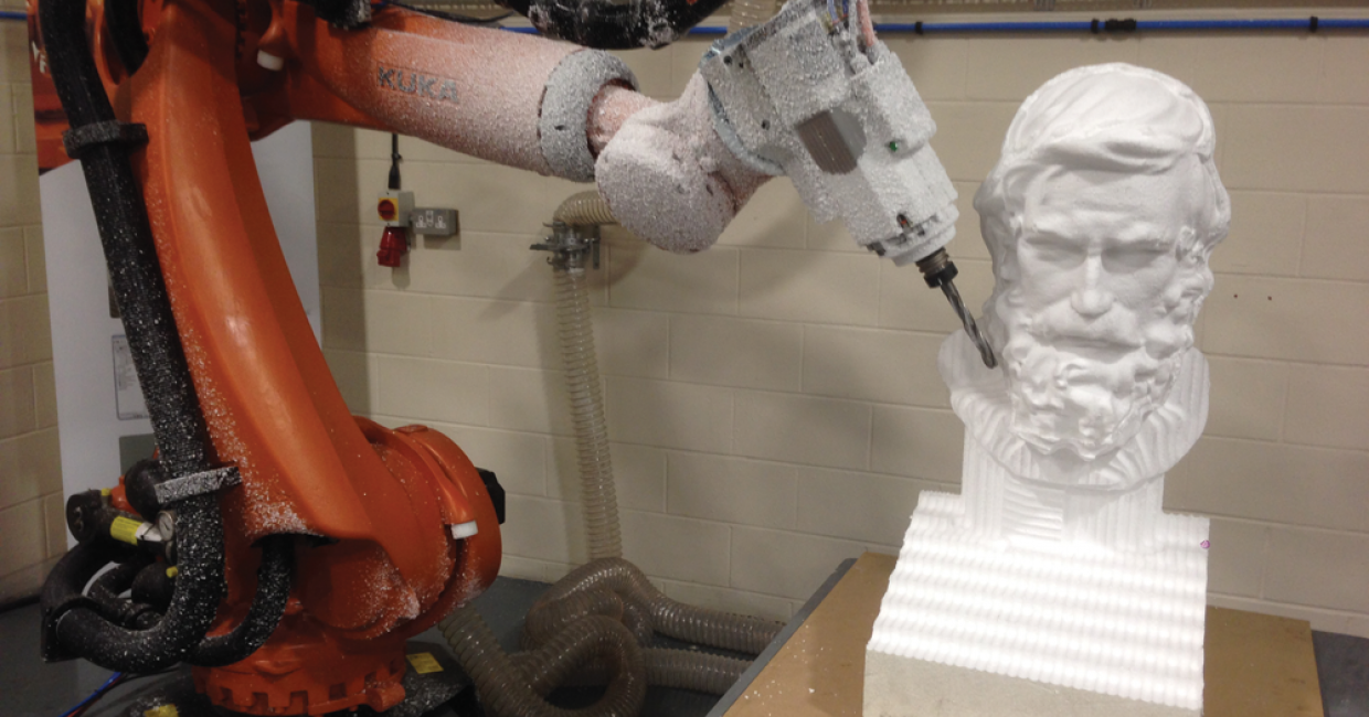 ...to modelling is an efficient solution with a robot