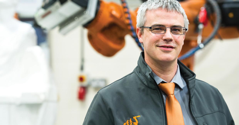 Jason Barker, CNC Robotics managing director