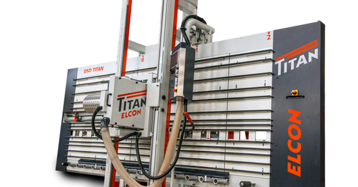 Elcon's impressive Titan panel saw is distributed in the UK by Daltons Wadkin