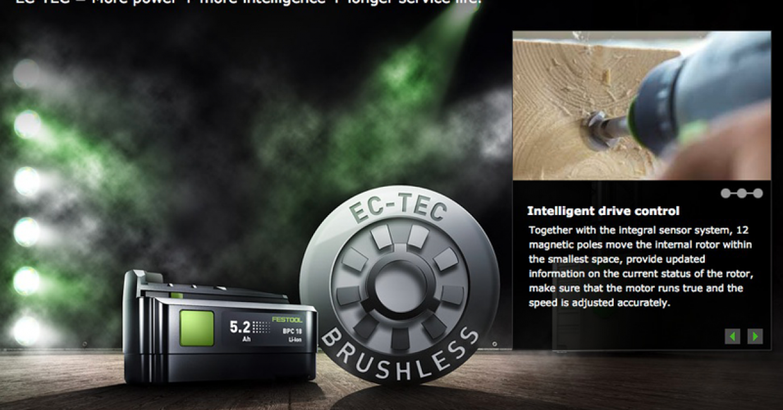 Festool EC-Tec gives more power