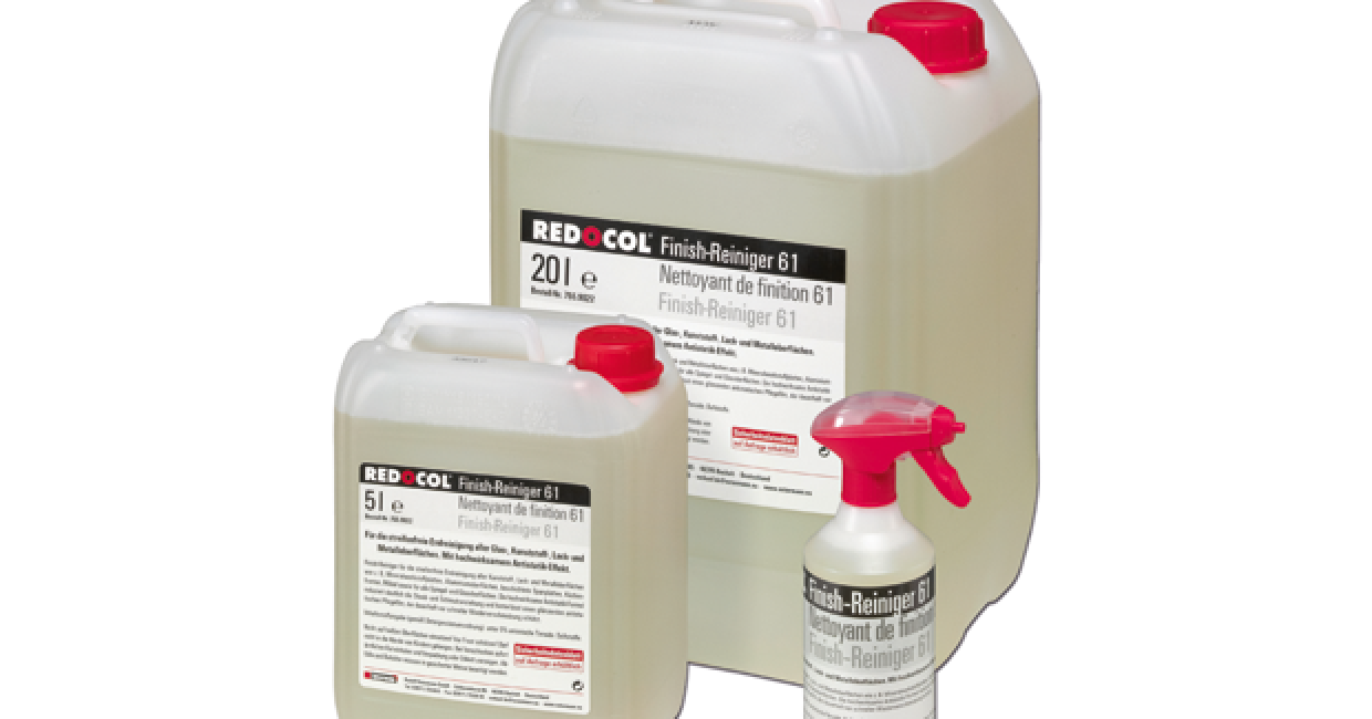 Ostermann's Redocol biodegradable finish cleaner
