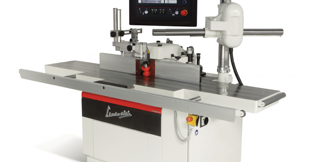 The SCM Ti 5 spindle moulder with electrospindle