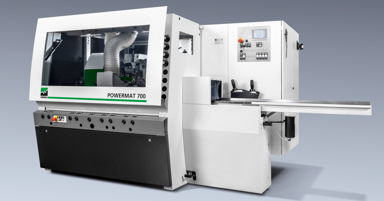 Weinig Powermat 700: the new generation of moulders is full of innovations and enhancements