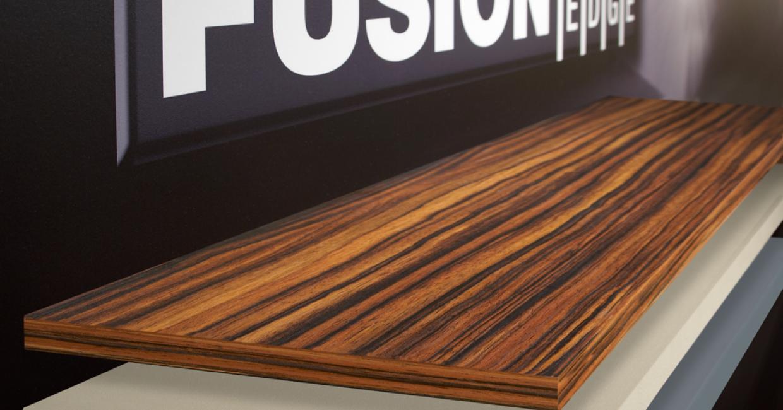 Döllken has designed a new range of edgebands for the laser age: Fusion-Edge
