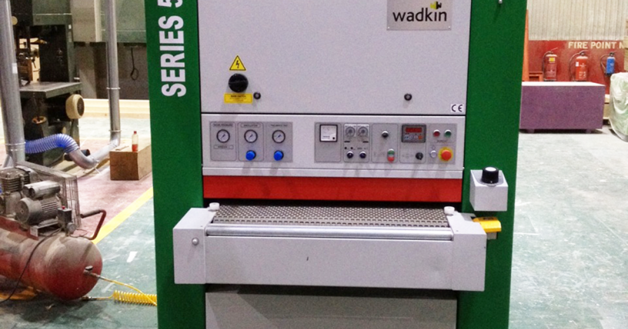 Wadkin 5-Series widebelt sander supplied by Daltons Wadkin