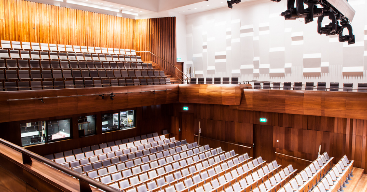 The HOMAG BMGs enable the Specialist Joinery Group to deliver premium projects such as the Concert Hall at The Guildhall School of Music, London