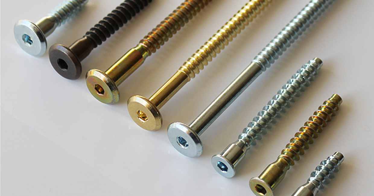 The Insert Company's Confirmat screw options
