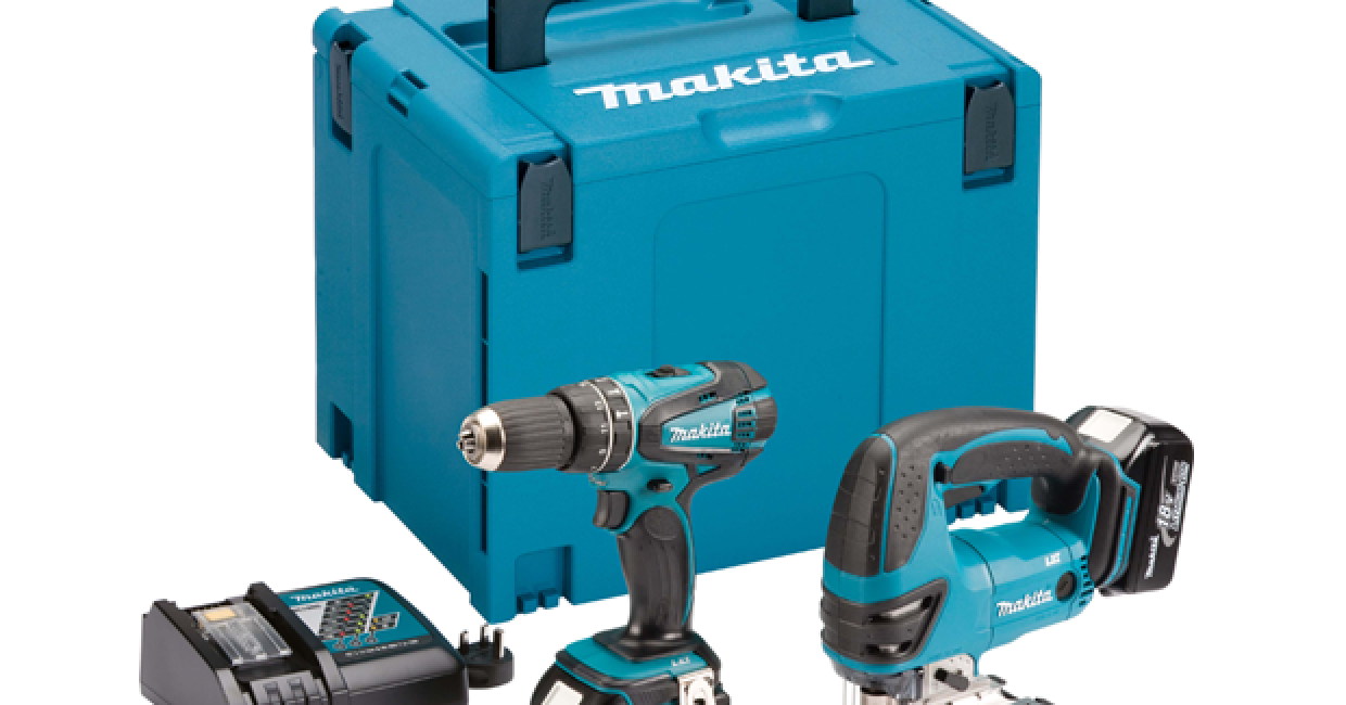 Makita has launched three new two-pice combination kits