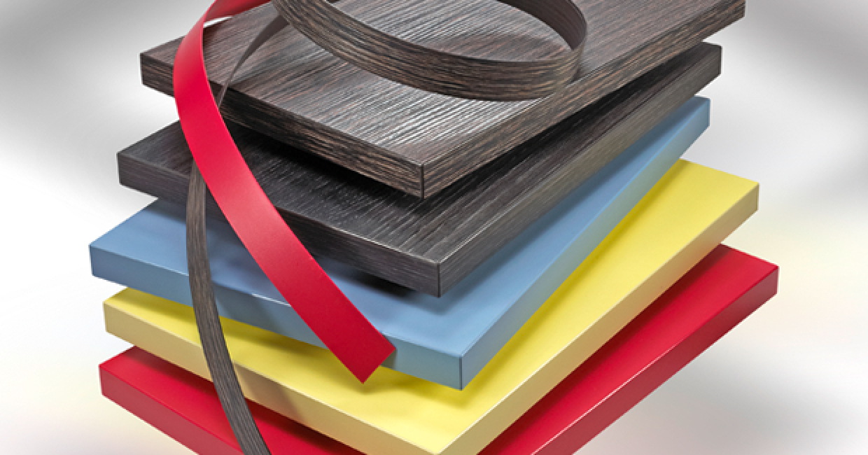 At Ostermann, manufacturers can choose from over 18,000 edging to board matches in 1mm thick edging