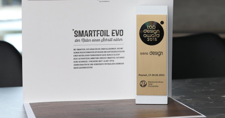 Smartfoil Evo won a 2015 Top Design award in Poland