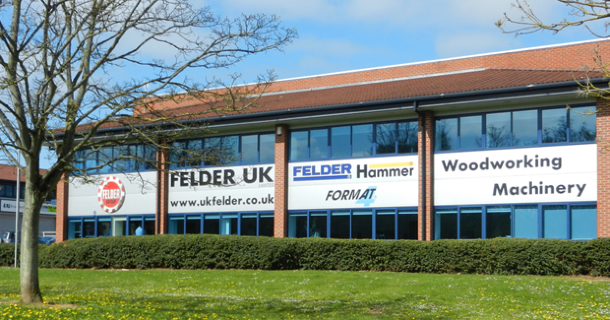 The new facilities at Felder UK allows a much wider range of equipment to be displayed