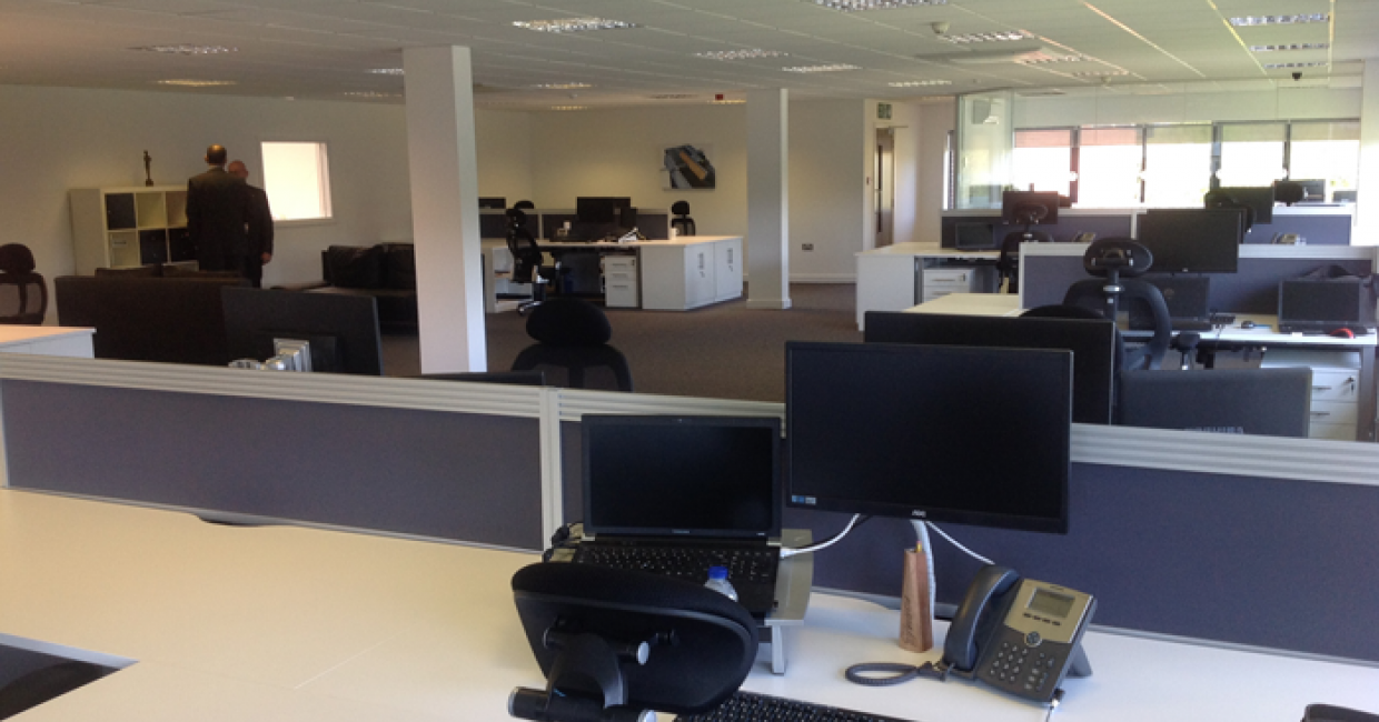 A new office suite at Felder UK HQ