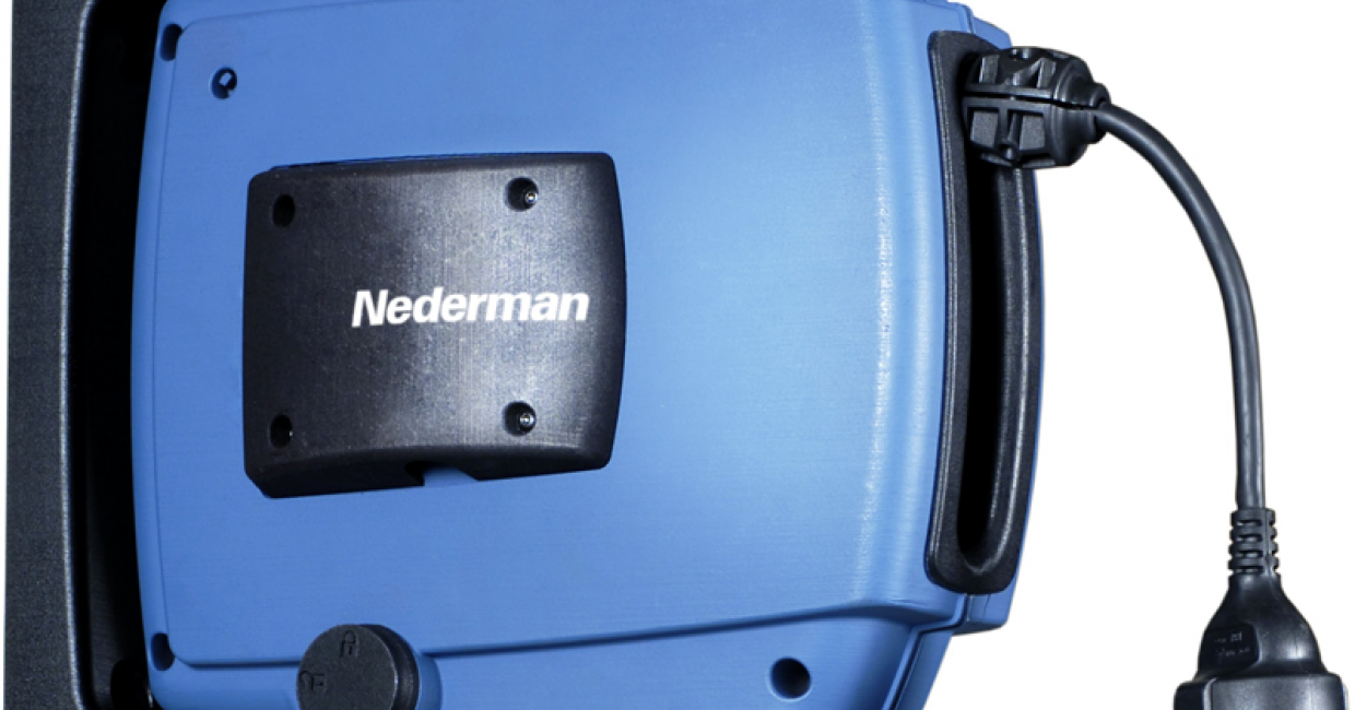 Nederman's C20 power cable reel