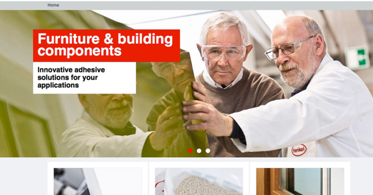 Henkel has launched new web portal on adhesives for furniture and building components