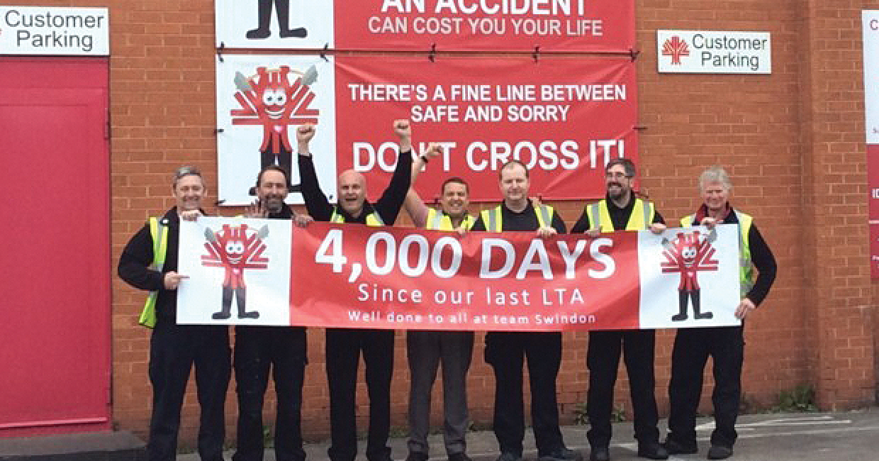 IDS Swinton branch 4000 hours without LTA