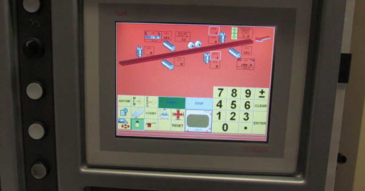 HMI touch screen from Casolin