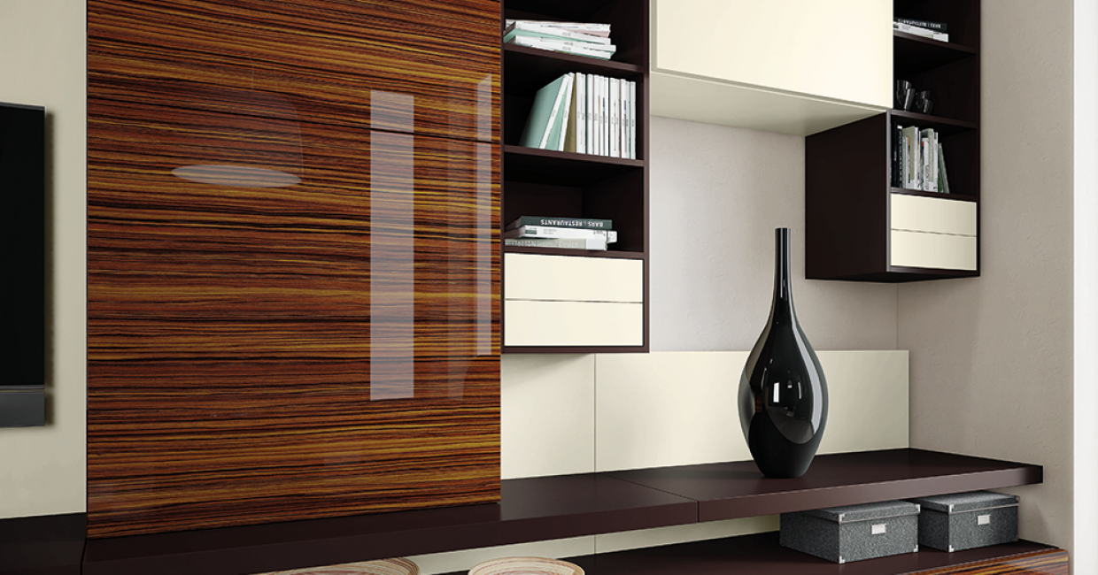 Specify glamour with PerfectSense Gloss H3025 Macassar
