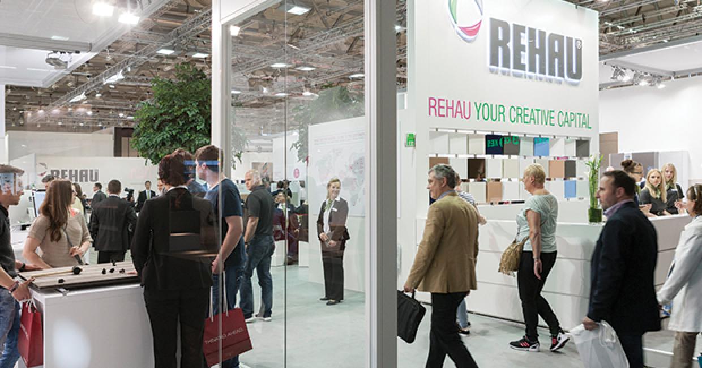 Rehau's busy creative city at Interzum