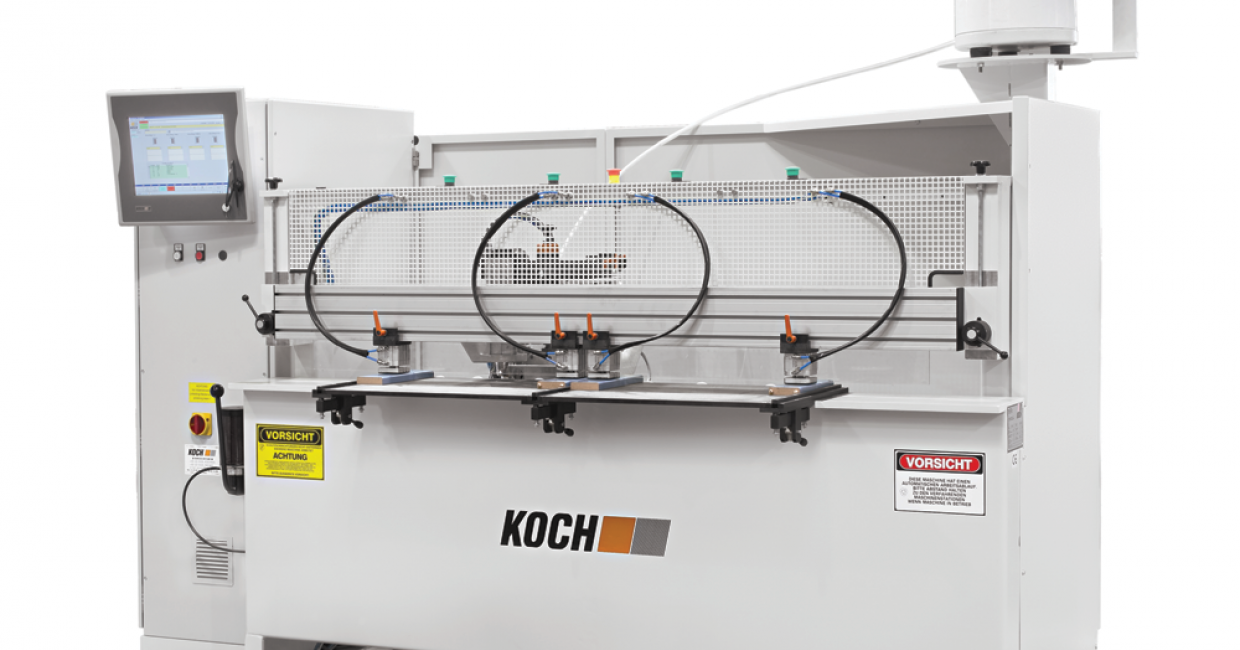 The Sprint-FC is a machine for the processing of French cut door components