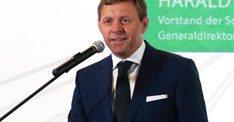 CEO of Schattdecor Russia Harald Purainer