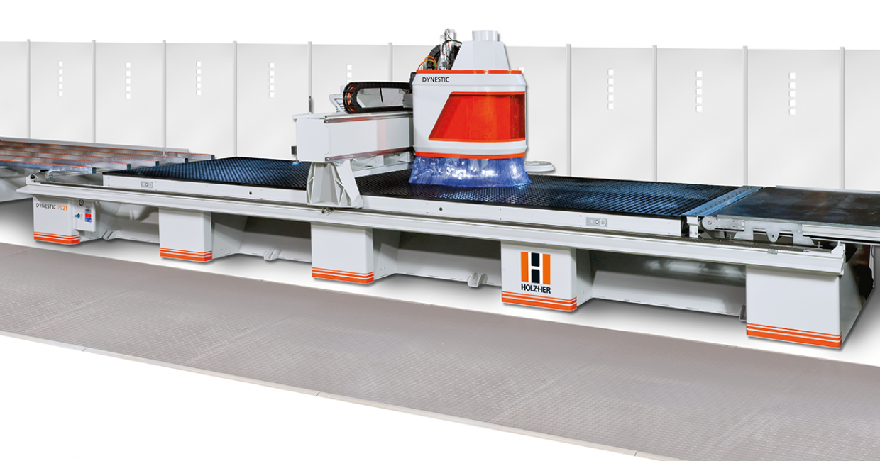 Holz-Her has the Dynestic Series with CNC router nesting technology for efficient formatting and drilling