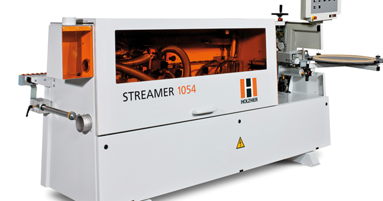 The Streamer is the compact entry series for professional edgebanding
