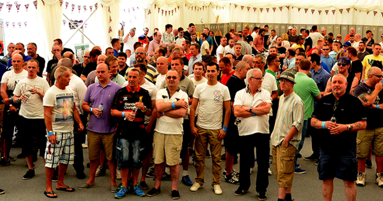 Another good turn out for Decorative Panels' two-day charity BBQ event
