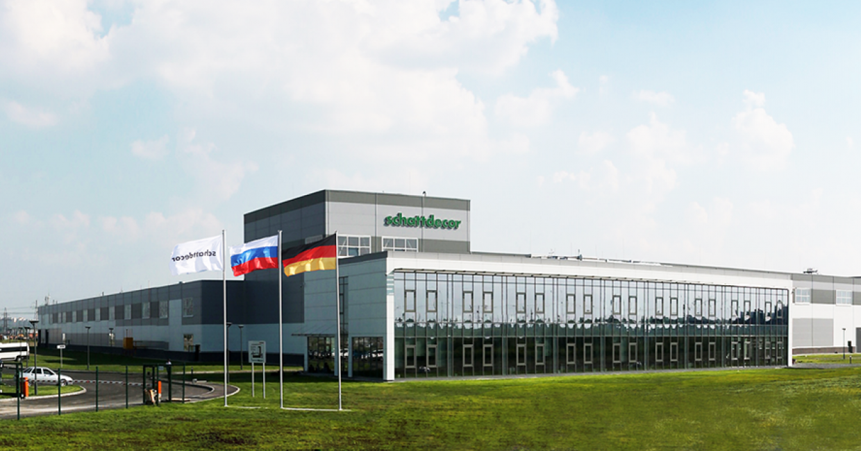 The new plant of the Schattdecor Group in Tyumen, West Siberia
