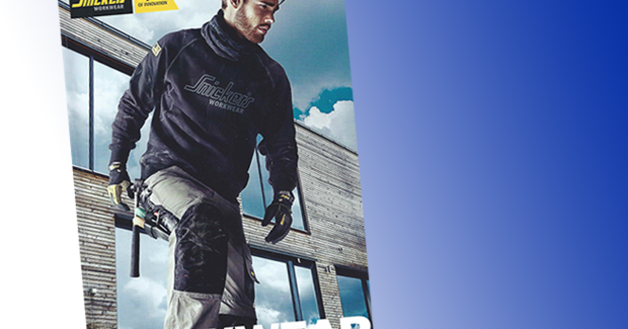 Snickers' new workwear catalogue is out now, in print or as a download