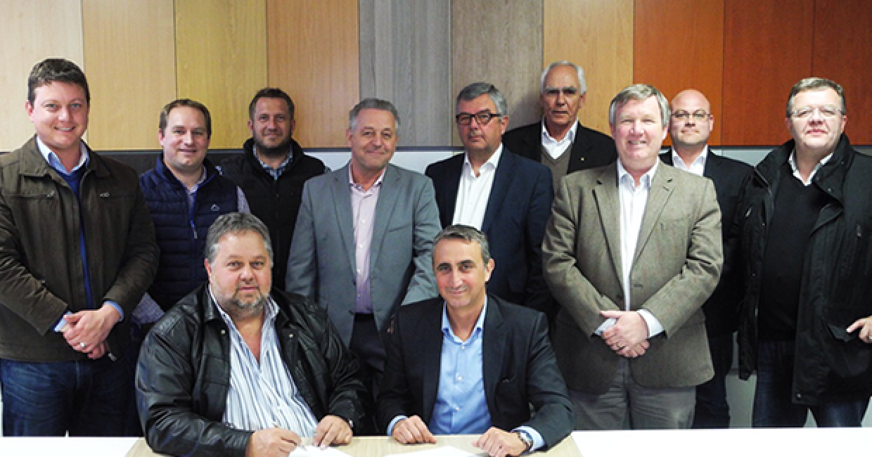 PG Bison will run Africa's first high gloss hot-coating line supplied by Spanish innovators Barberán