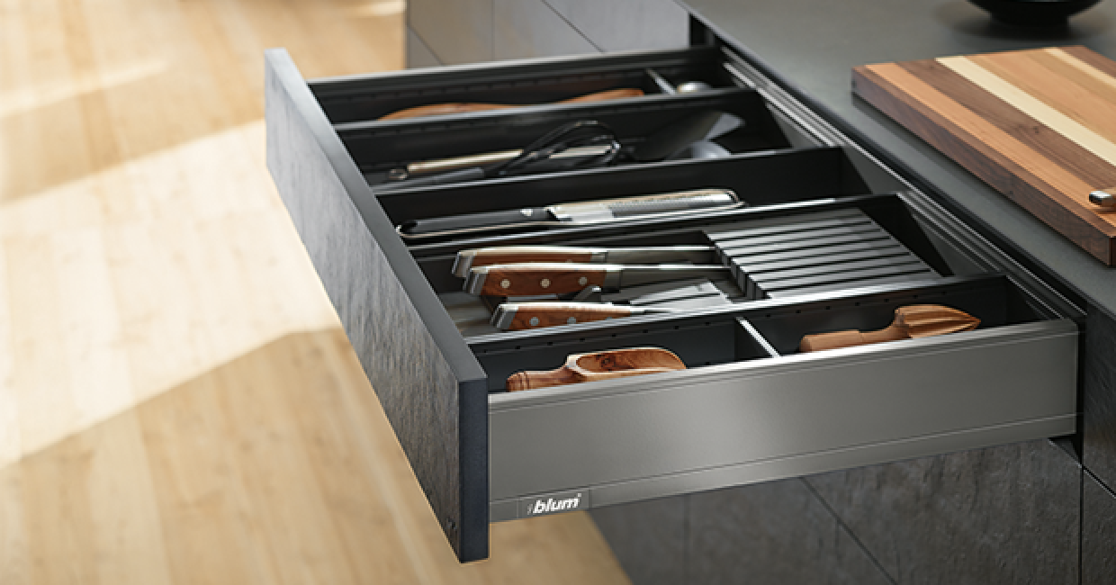Legrabox, Orion Grey, Kitchen Utensils