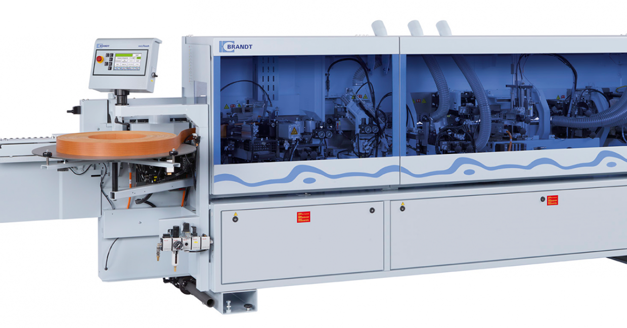 The Brandt Ambition 1230 airTec edgebander – high performance with cost efficiency