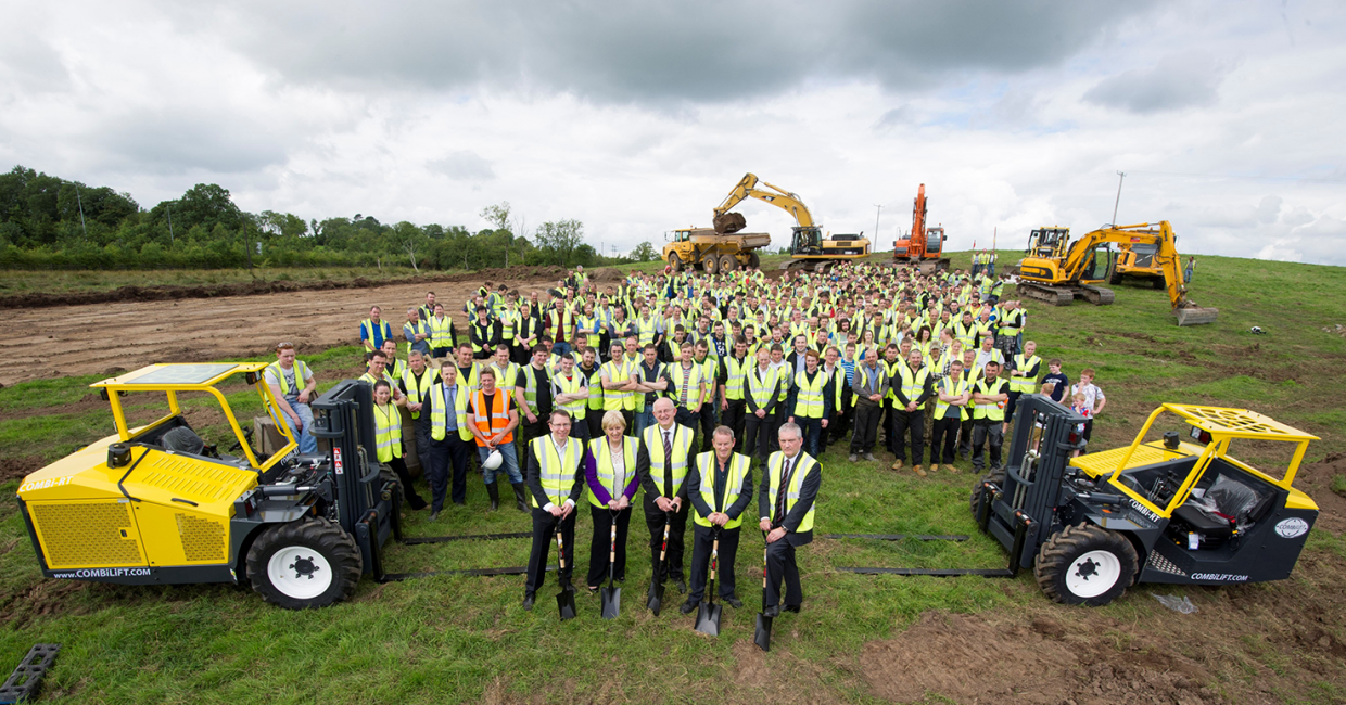 Combilift aims to double its turnover to €150m by 2020