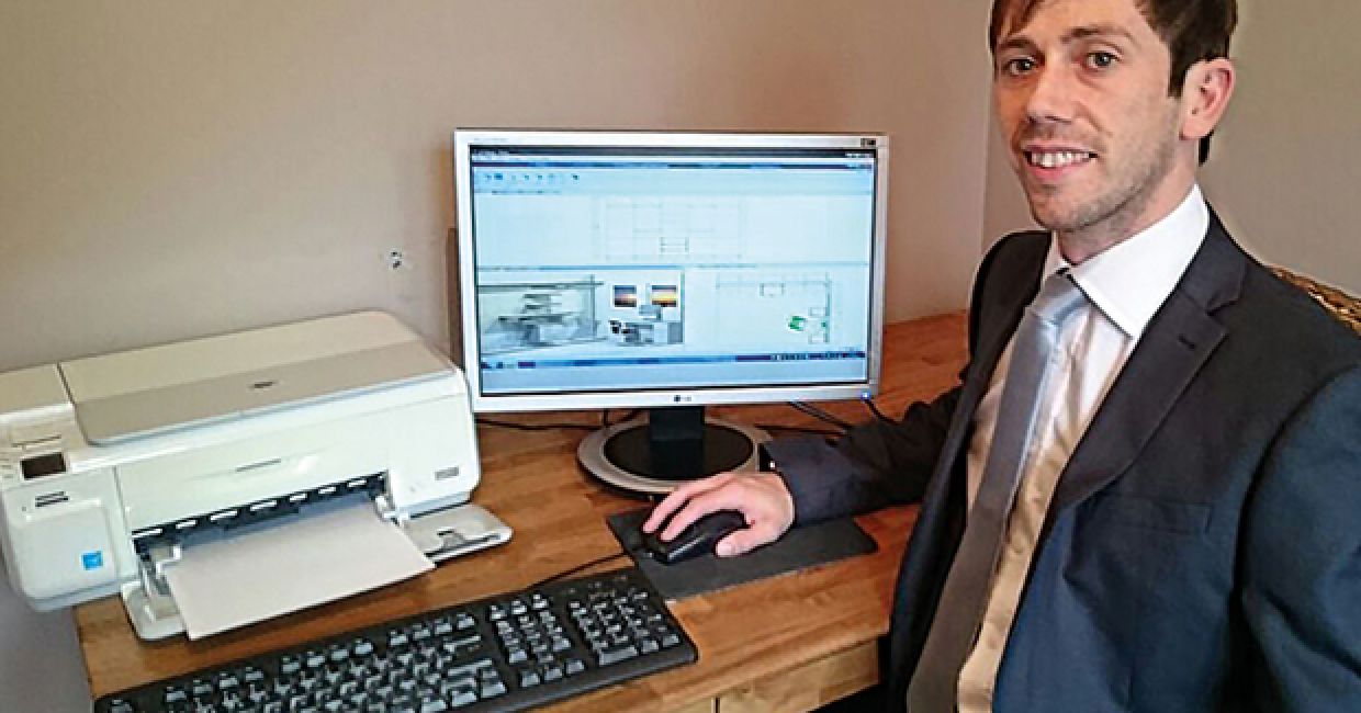 Danny Hargreaves, Cabinet Vision's account manager for southern England