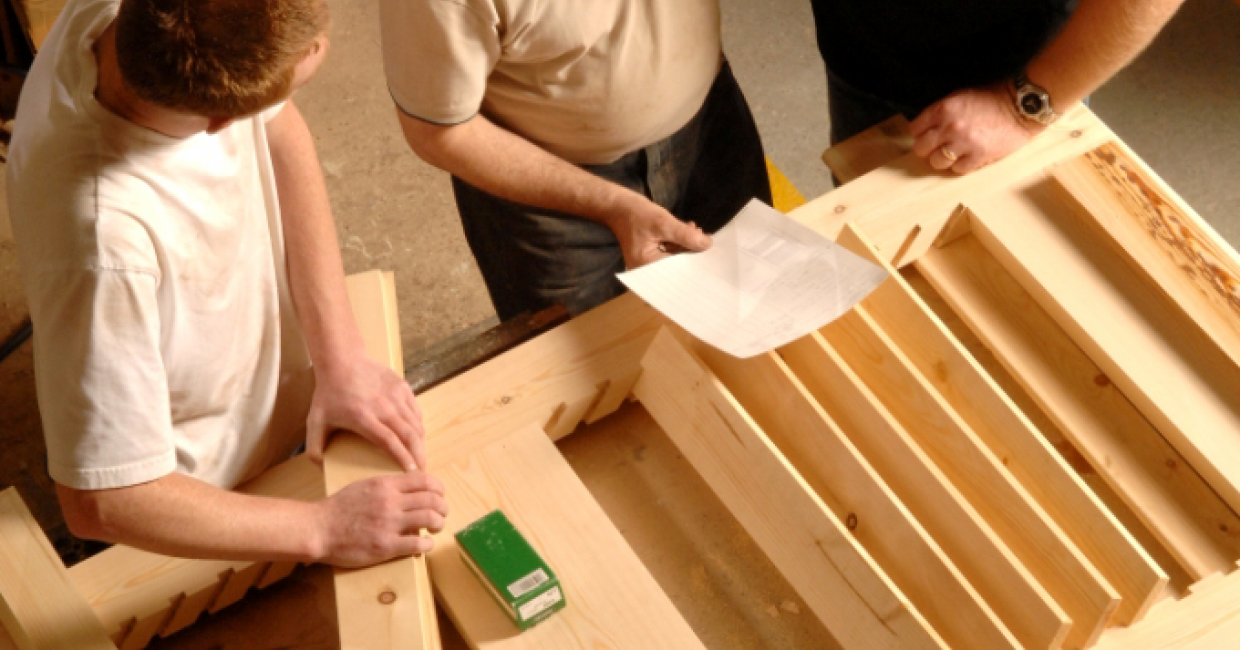 Joinery accounted for 32% of all construction apprenticeships in 2014