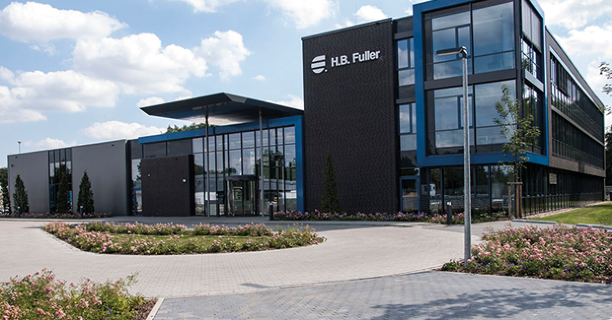 The newly opened HB Fuller Adhesive Academy in Lüneberg, Germany