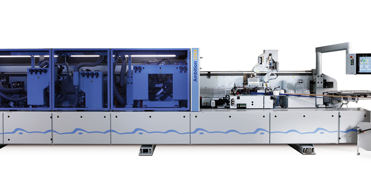 HOMAG Ambition 2264 edgebander - delivers large production capacity for Little Dreams