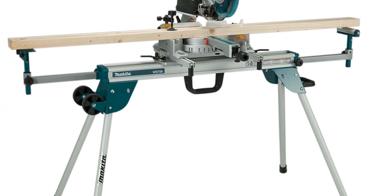 The new DEAWST06 mitre saw stand from Makita