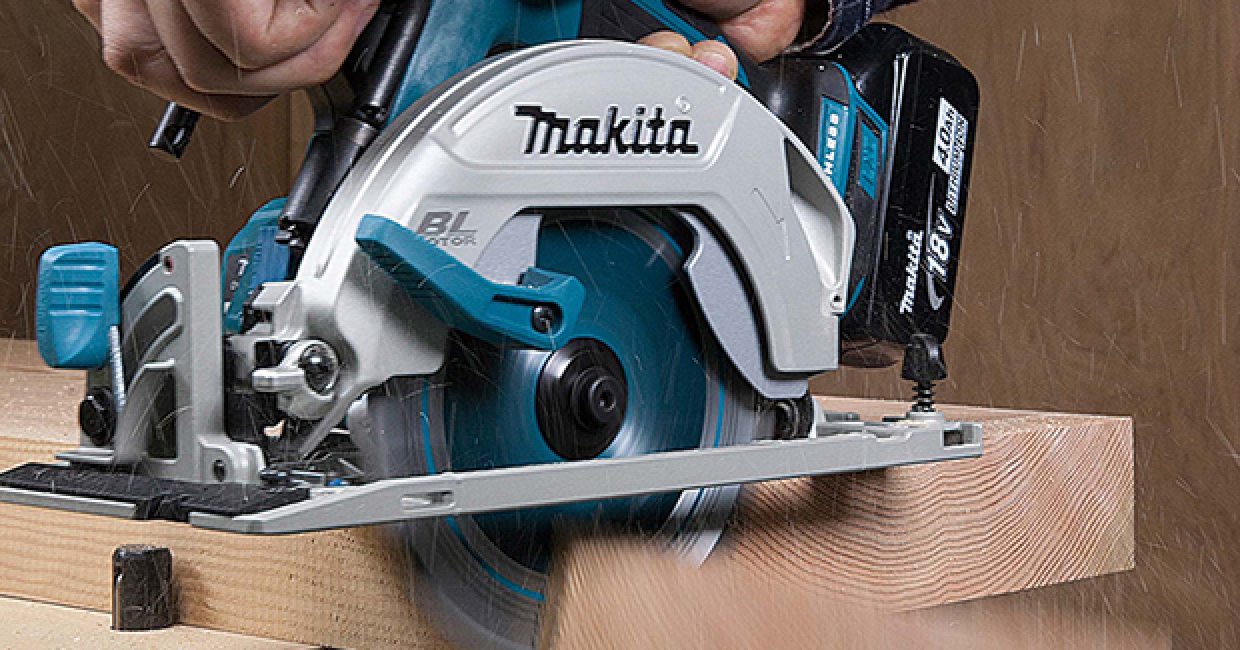 Makita's DHS680 165mm cordless circular saw