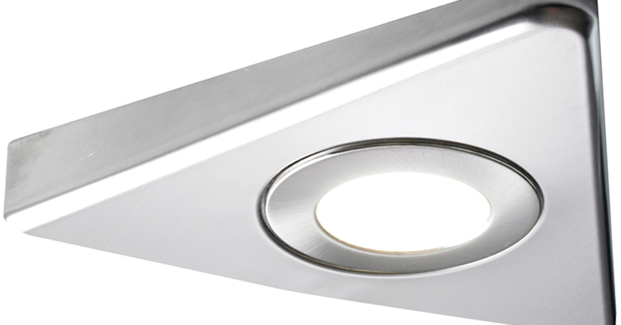 Diffused LED slimline Tri-light