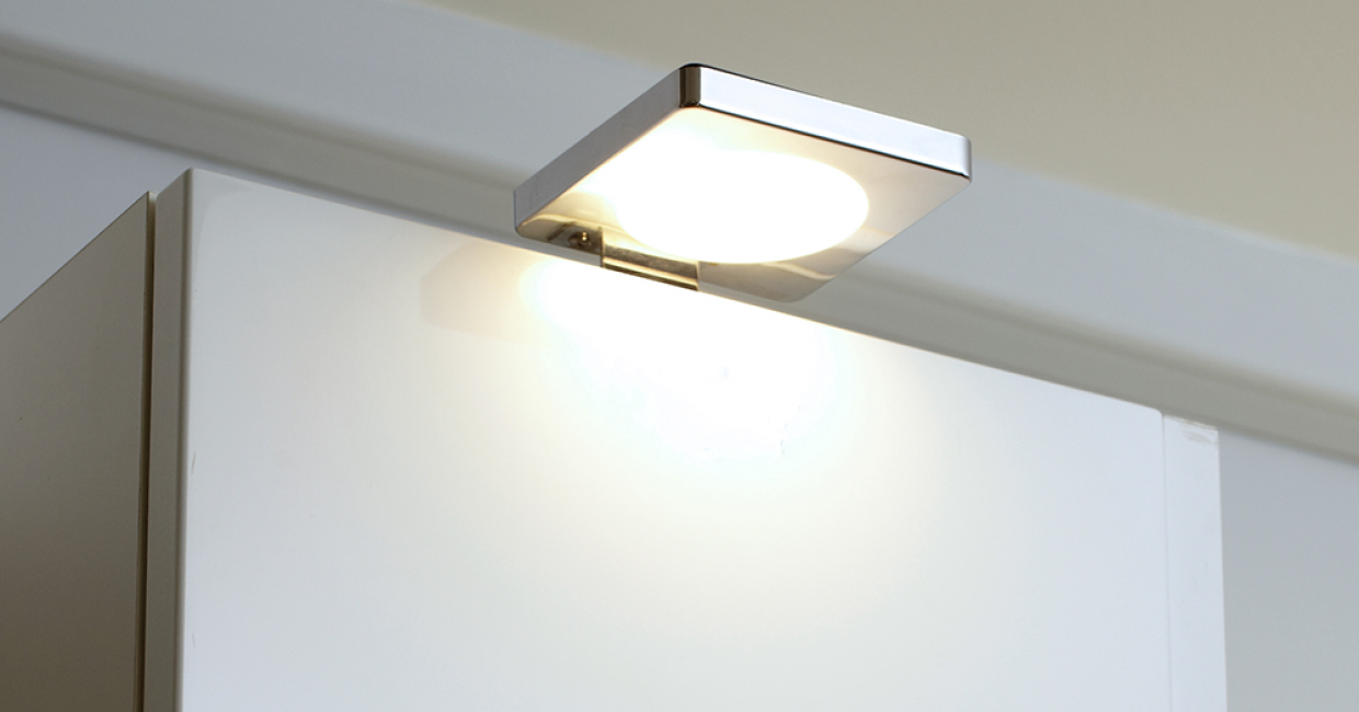 Diffused LED over-cabinet light