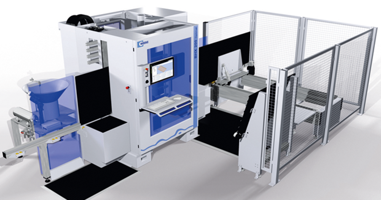 The BHX 200 boasts fast machining speeds with high levels of precision, despite its small size