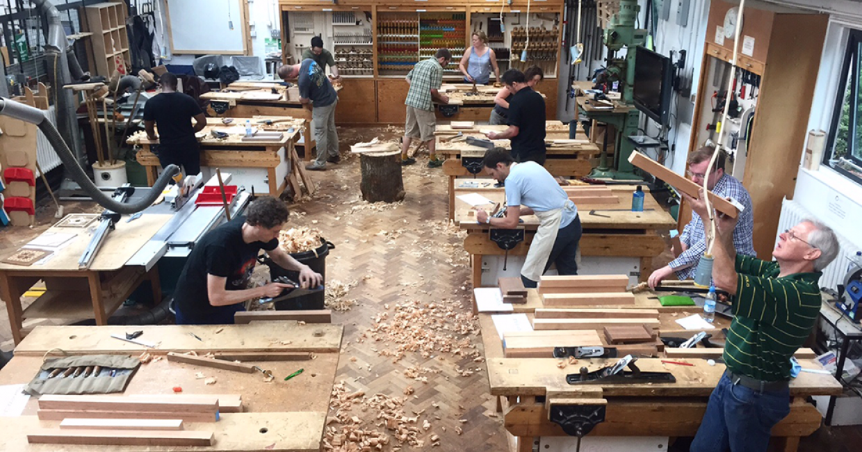 Students Flock To Furniture Crafts Workshops At College