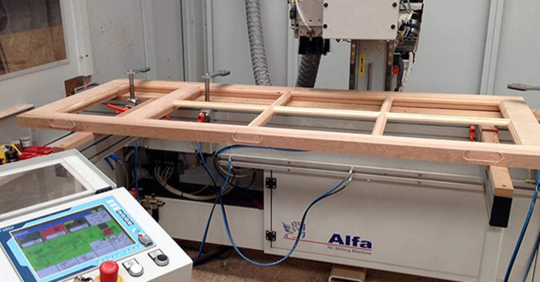 Tun stall's new Centauro Alfa NC milling machine