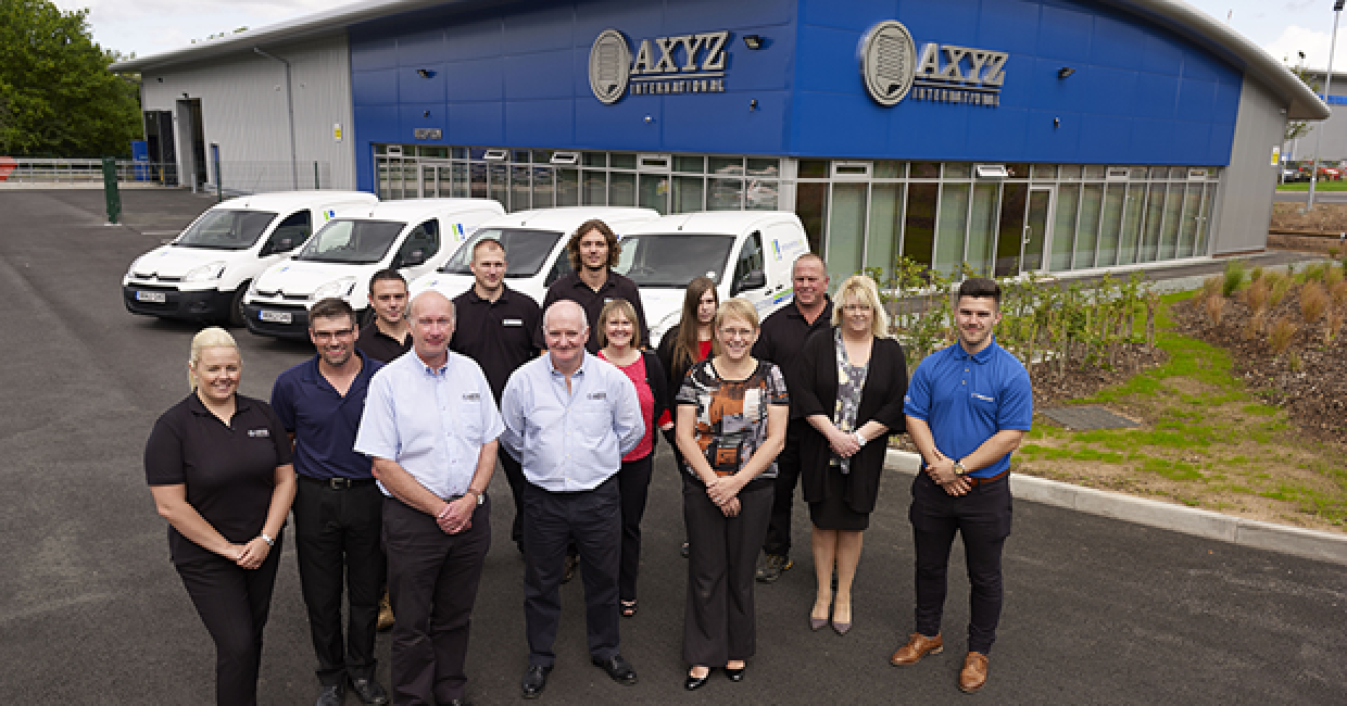 Two open house events are being held at AXYZ' new headquarters in Telford