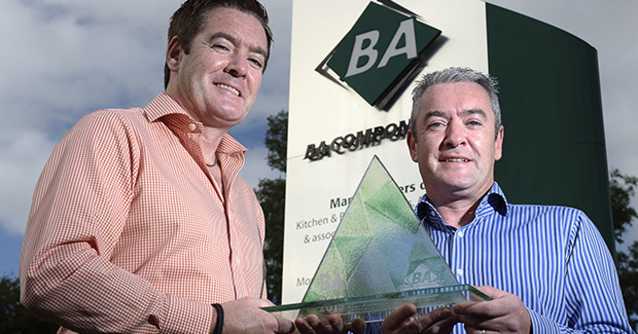 BA Components directors - Brian and Kieran McCracken