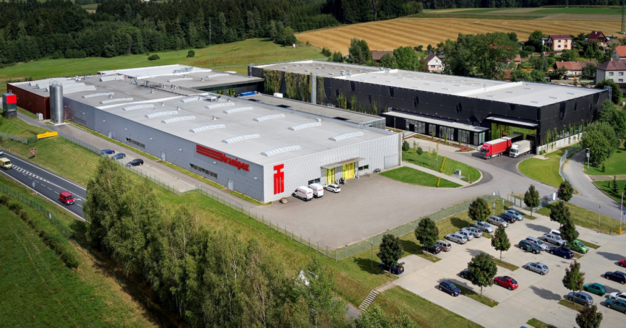 The Hranipex headquarters in the Czech Republic - there are now subsidiaries across Europe
