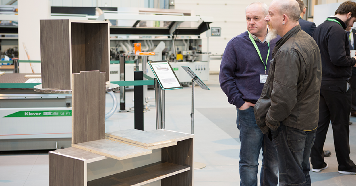 The Biesse half-day 'Cabinets Made Easy' workshop at its Daventry Tech Centre